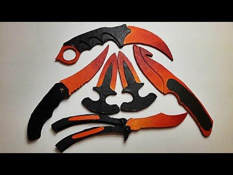 Fade Bıçak Seti Yapımı - (CS GO)