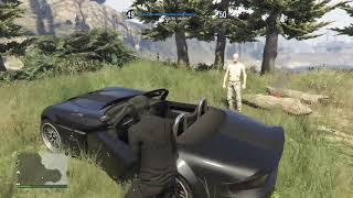 Grand Theft Auto V fail girl om fire