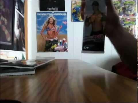 WWE 2012 Topps trading cards JUMBO pack opening