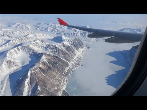 Awesome Arctic Flight to the Northpole 2016