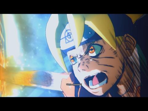 Naruto Ninja Storm 4 Road to Boruto PC MOD 60 FPS - Sage Boruto vs Momoshiki Final Form English Dub