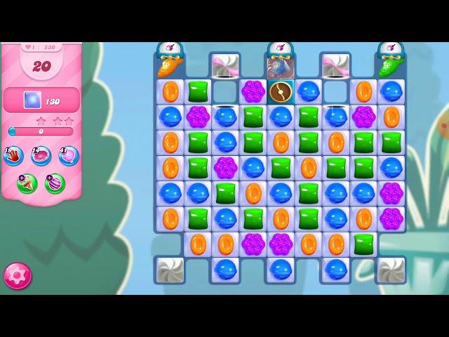 Candy Crush Saga niveau 530