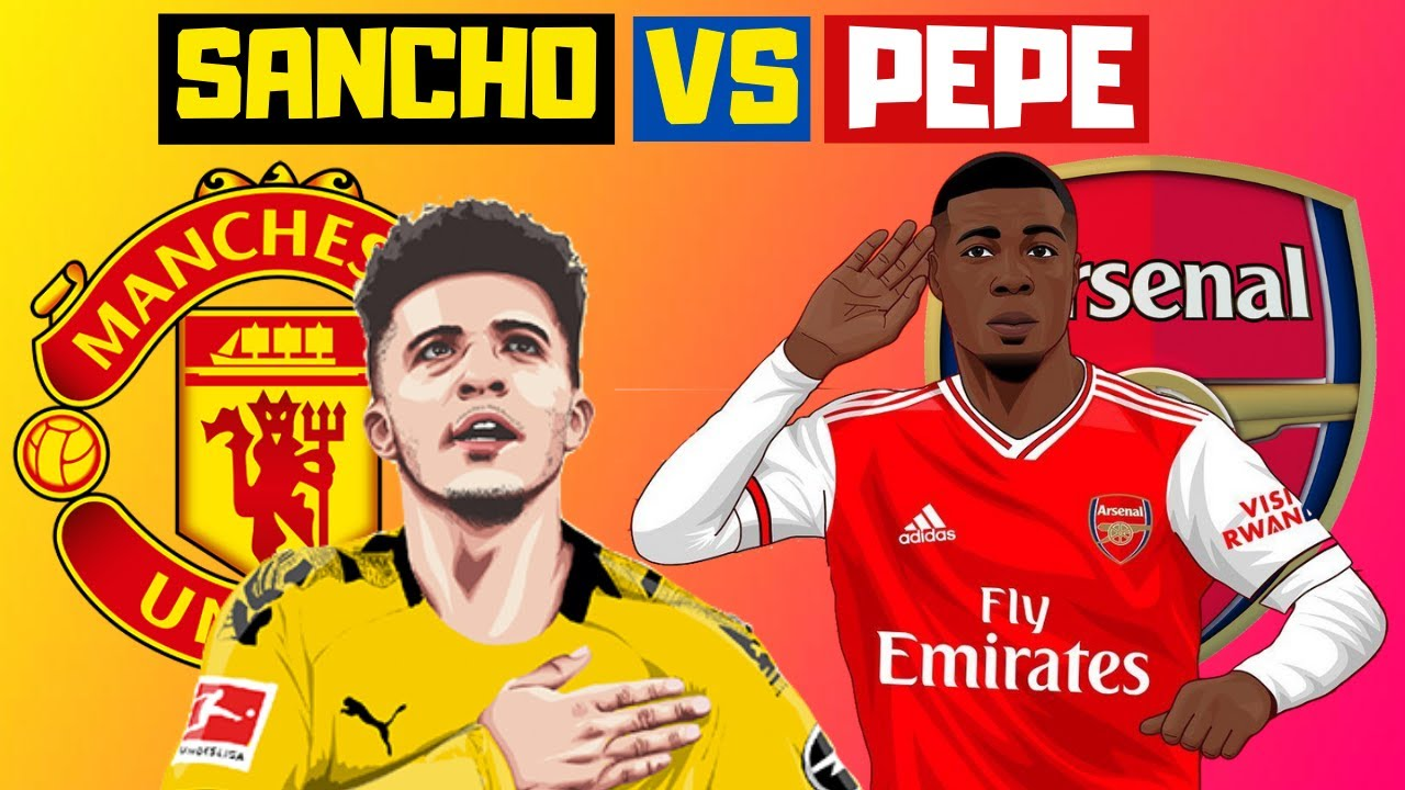 JADON SANCHO VS NICOLAS PEPE: Who is Better? | Statistical Comparison - Clip from main video