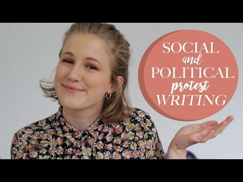Social and Political Protest Writing - A Level Tips