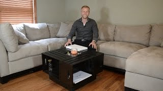 Crate Coffee Table Build And Review Diy How To