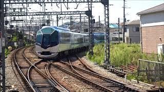 鮮魚列車の露払い 京都しまかぜ新ノ口通過 近鉄新ノ口駅