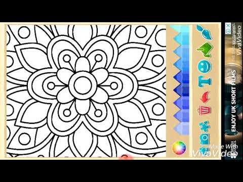 Coloring New Florens Boyama Gul Resmi Boyama Rengleme