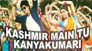 Gambar cover Kashmir Main Tu Kanyakumari Song - Lyrics Chennai Express Sunidhi Chauhan Arijit Singh  Amitabh bhat