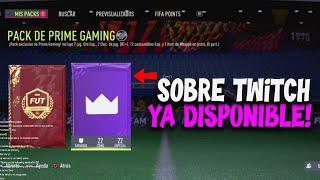 "CONSIGUE YA EL SOBRE DE TWITCH ""PRIME GAMING"" GRATIS en FIFA 22 ULTIMATE TEAM screenshot 2"