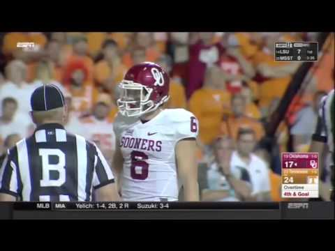 Baker Mayfield 2015 Regular Season Highlights