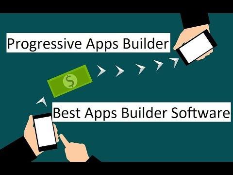 Best Apps Builder Software - Progressive Apps Builder