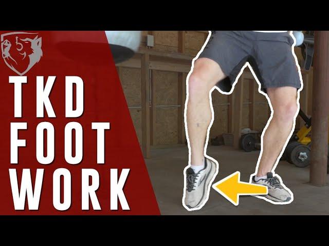 Taekwondo Footwork Trick for Closing Off Distance