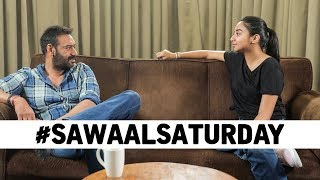 How well does Ajay Devgn know our generation? | #SawaalSaturday | De De Pyaar De | MostlySane