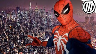 Spider-Man PS4: NYC Freeroam Gameplay in 4K (NO SPOILERS)