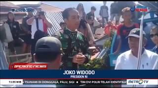 Presiden Jokowi Tiba di Palu