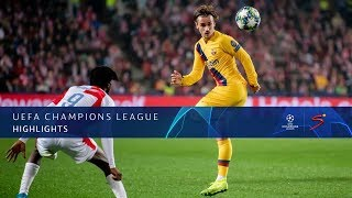 UEFA Champions League | Slavia Prague v FC Barcelona | Highlights