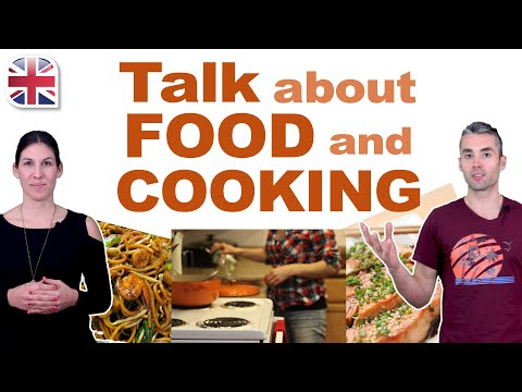Talk About Food and Cooking in English - Spoken English Lesson