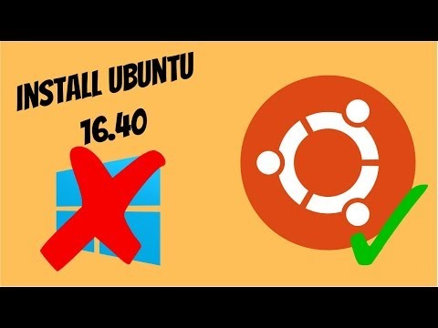 (OLD VERSION, check description) How To Install Ubuntu 18.4/16.4