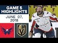 NHL Highlights | Capitals vs Golden Knights, Game 5 - June 7, 2018