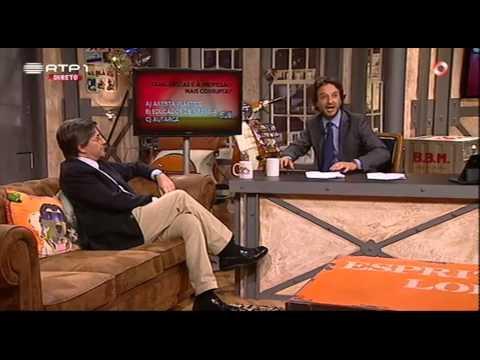 """Paulo Morais """"Qual a profissão mais corrupta?"""" - José Pedro Vasconcelos - 5 Para a Meia Noite"""