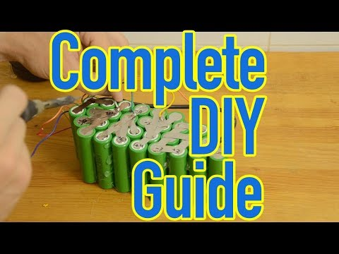 Complete DIY Guide - Building Custom Shaped Lithium Batteries