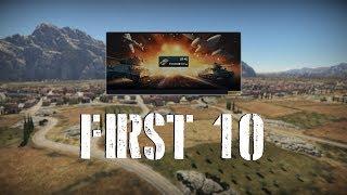War Thunder First 10 - OF-40
