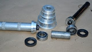 Installing a Motorcycle Wheel Bearing and Seal