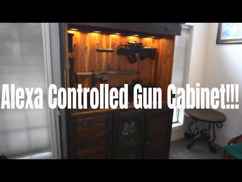 cool-gun-cabinet-control-by-alexa!!!