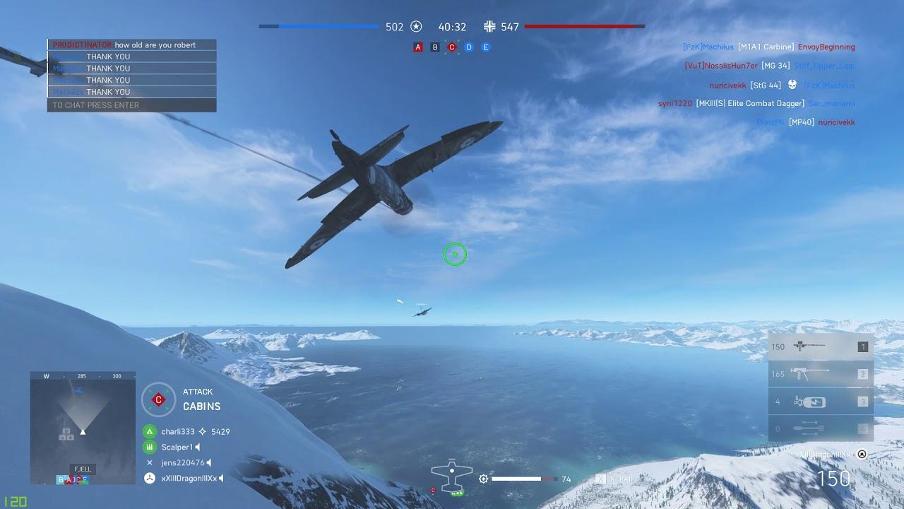 BFV - Purposely crashing to deny kill and points
