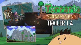 Análisis bastante corto de la 1.4 de Terraria: Journey's End