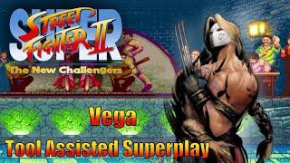 [TAS] - Super Street Fighter 2 (Arcade/CPS2) - Vega - Full Perfect