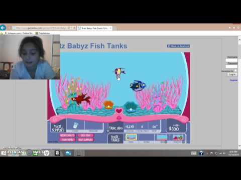Baby Bratz Fish Tank Game