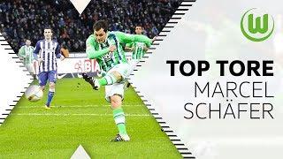 Die 10 besten Tore von Marcel Schäfer   VfL Wolfsburg