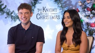 The Knight Before Christmas: Vanessa Hudgens and Josh Whitehouse (Exclusive)