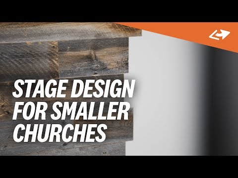 Simple & Cheap Church Stage Design Ideas (Real Examples ...