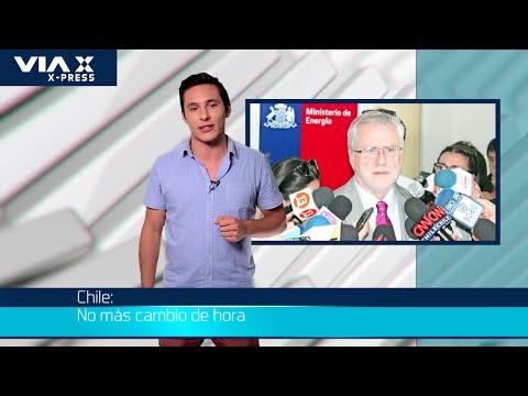 Noticias X-Press / Chile: No más cambio de hora.