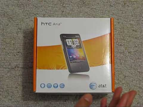 HTC Aria Unboxing and First Looks