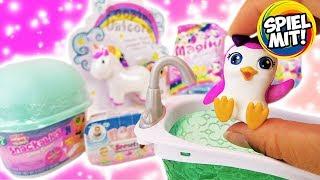 MEGA Überraschungen: Num Noms Snackables Snow Cones, Magiki, Baby Secrets & Unicorn mit Jelly Beans