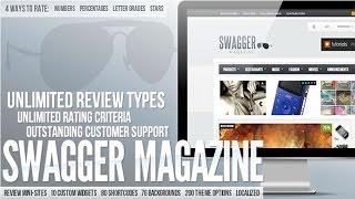 SwagMag Wordpress Theme Review & Demo | WordPress Magazine/Review Theme | SwagMag Price & How to Install