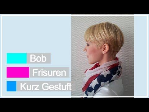 Bob Frisuren Kurz Gestuft Ideen Youtube