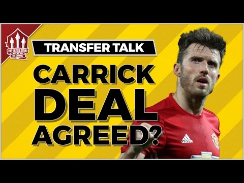 MANCHESTER UNITED Offer Michael CARRICK Contract Extension! MUFC NEWS