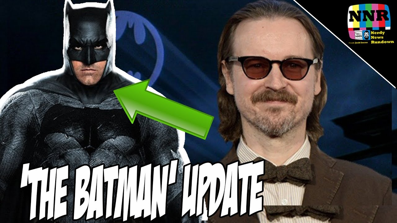 The Batman Movie Update: Matt Reeves Talks Batfleck and Plot