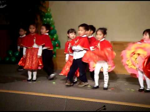 Heaven's christmas 2010 in Miracle land preschool part 2