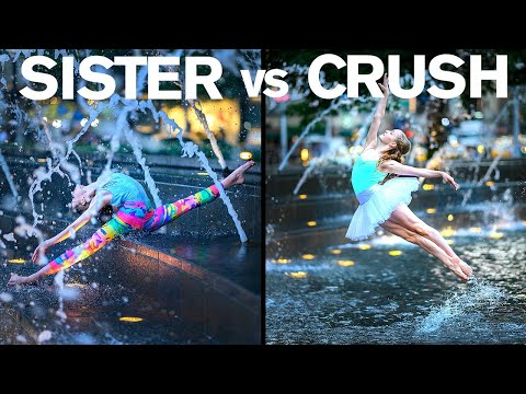 CRUSH vs Her SISTER Epic Photo Challenge | Hudson Matter