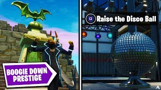 All BOOGIE DOWN PRESTIGE MISSIONS and REWARDS on Fortnite Season X...