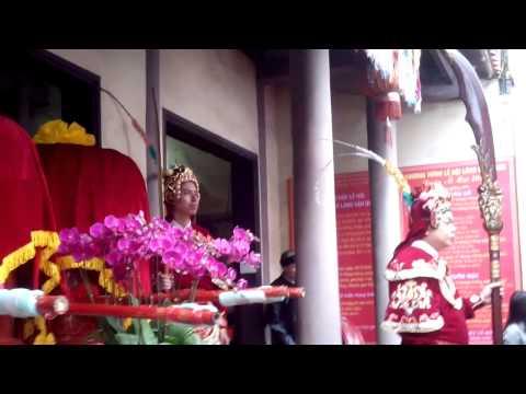 Lễ Hội Làng Văn Quán Hà Đông Hà Nội 2015, Tế Lễ Miếu Thần Độc Cước