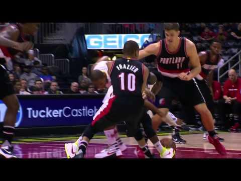 Portland Trail Blazers vs Atlanta Hawks | December 21, 2015 | NBA 2015-16 Season