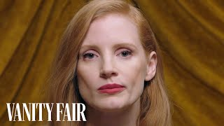 "Jessica Chastain Twitches Her Nose Like ""Bewitched"" 