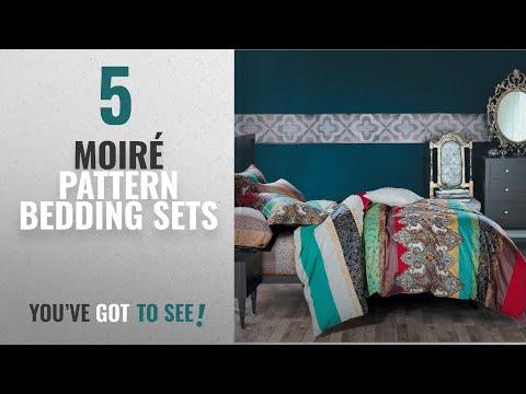 Top 10 Moiré Pattern Bedding Sets 2018: 3-piece Ethnic
