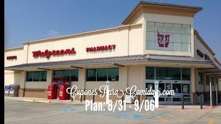 Plan Para Walgreens 8/31@9/06 | Cupones Para Comida